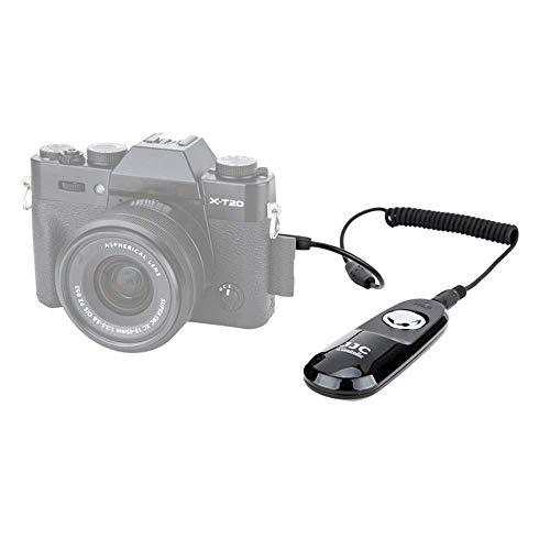 JJC Fernauslöser für Fujifilm GFX100 X-PRO3 X-T4 X-T3 X-T2 X-T1 X-H1 X-T30 X-T20 X-T100 X-A5 X100V X100F XF10 etc. Kamera – Ersetzt Original Fuji RR-100 Auslösekabel