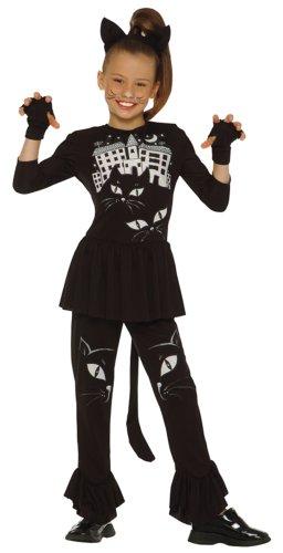 Cesar - G731-002 - Costume - Chat - 8-10 ans, Noir