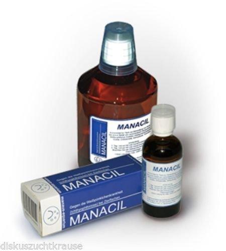 manaus-aquarium MANACIL gegen die Ichthyophthiriose Pünktchenkrankheit 100 ml für 2000 Liter
