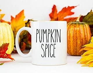 Pumpkin Spice Mug Farmhouse Style Coffee Mug Rae Dunn Inspired Mug Mug Gift Farmhouse Kitchen Farmhouse Coffee Bar Pumpkin Spice Only One Mug