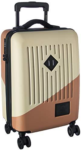 Herschel Trade Power - Bolsa de Transporte con diseño de Rosa de Abedul y Ceniza, Color Plateado