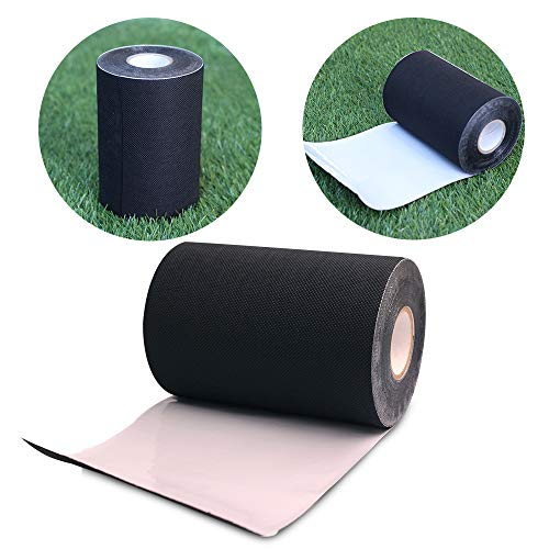 · Petgrow · Artificial Grass Tape Self Adhesive Synthetic Turf Seaming Tape for Jointing Fixing Green Lawn Mat Rug,Connecting Fake Grass Carpet 6inch X 33feet(15CM X 10M)