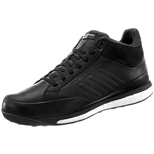 adidas Porsche Design M Athletic Sport Mid B34161 Herren Sneakers/Freizeitschuhe/High-Top Sneakers Schwarz 44
