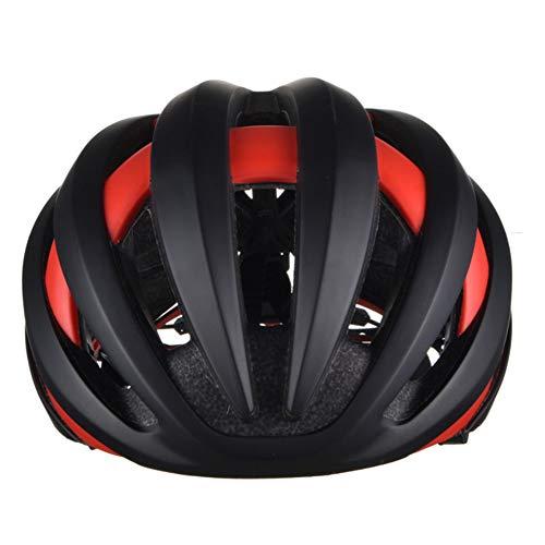Jay Casco de Ciclismo con Luces traseras de Advertencia Desmontables Bluetooth 4.1 a Prueba de Golpes Casco de Bicicleta Ligero Equipo de protección para Montar al Aire Libre,C