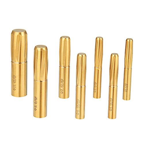 ChaRLes 6 Flautas Espiral Escariador 5.5-11.43 mm Estrías