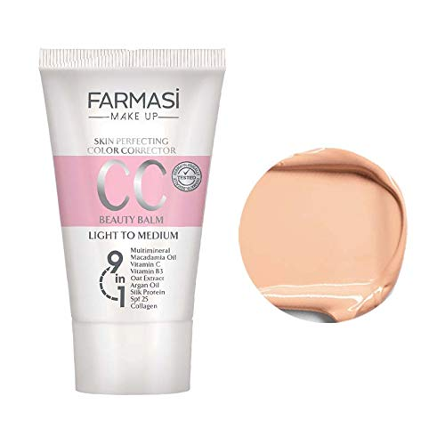 Farmasi Make Up CC Cream 9 in 1, 50 ml./1.7 fl.oz. (Light Medium)