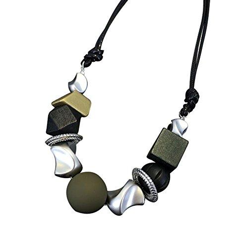 Femmes Paragraphe chaîne courte sauvage chaîne Pull bijoux