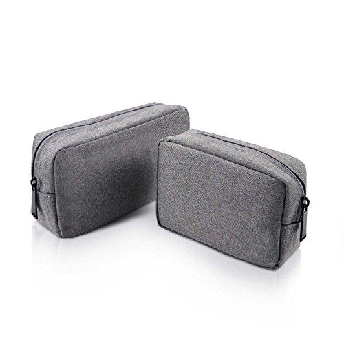 HULISEN ポーチ 多機能 収納 化粧 旅行 出張 小物入れ 大容量 防水 トラベルトイレタリーバッグ レディース メンズ (2サイズセット)