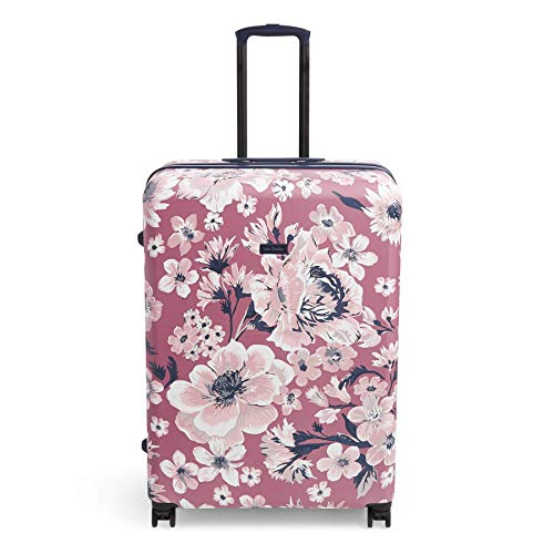 Vera Bradley Hardside Rolling Suitcase Luggage, Strawberry Grand Garden, 29' Check In