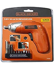 Black & Decker Electri Screwdriver - KC3610
