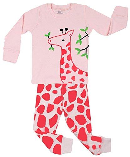 Elowel - Pijama De 2 Piezas Niñas 100% Algodón Diseño