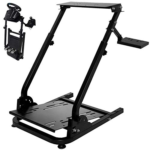 Wilk G920/G29 Racing Wheel Stand fit for Logitech G27/G25 Gaming Wheel Stand fit for Thrustmaster,Wheel Pedals NOT Included Shifter Mount NOT Included