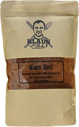 Klaus grillt Magic Dust Rub, 1er Pack (1 x 750 g)