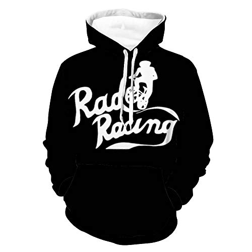 Rad Racing 2 Unisex Pullover Hoodies Sweater Men's and Women's Long Sleeve Sweatshirts Retro Printed Sweater