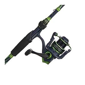 "Abu Garcia Virtual Spinning Reel and Fishing Rod Combo Green, 30 Reel Size - 6'6"" - Medium - 1pc"