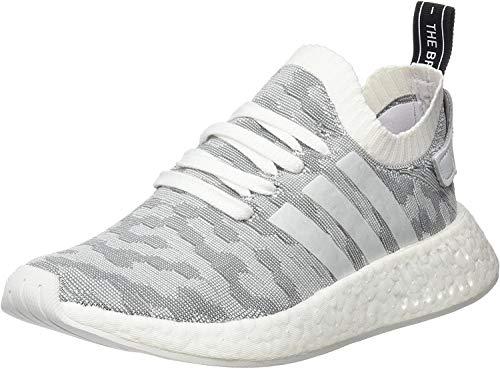 adidas Damen NMD_R2 Primeknit Sneaker, Weiß - 6