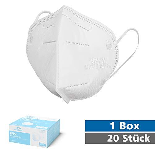 Siegmund 20 Stück Atemschutzmaske nach FFP2-Norm Mundschutz CE zertifiziert - 2