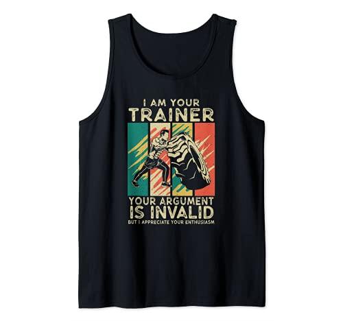 Io sono il tuo allenatore divertente Personal Trainer fitness palestra regalo Canotta