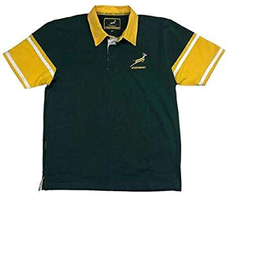 South Africa Rugby Springboks Herren Rugby-Shirt Kurzarm | Saison 2019/20 Gr. S, grün