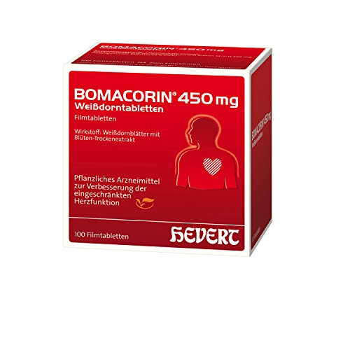 Bomacorin 450 mg Weißdorntabletten, 100 St. Tabletten