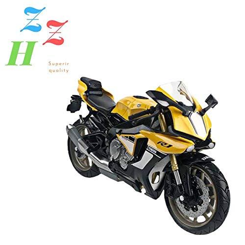 ZZH Yamaha R1 YZR-M1 Edición De Aniversario Modelo Moto Kit 1:12 Escala,A