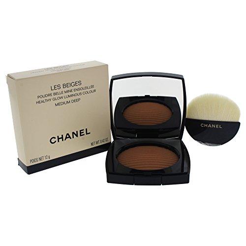 Chanel Les Beiges Poudre Belle Mine Ensoleillée Kompaktpuder, Medium Deep, 12 ml