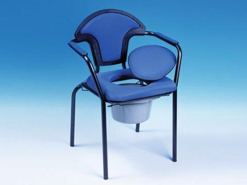 "Russka Toilettenstuhl ""Standard modern"", blau …"