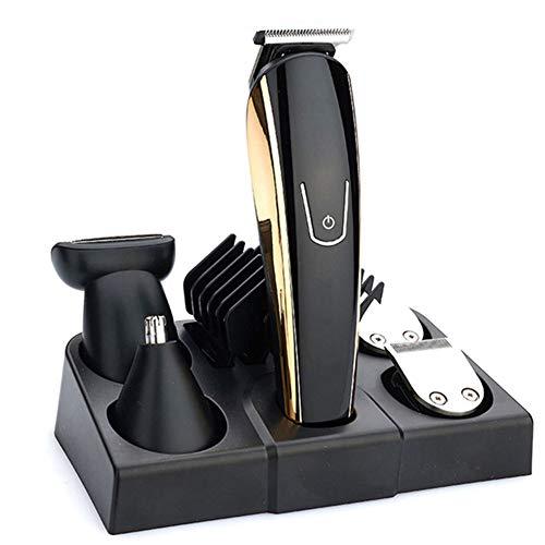 USB oplaadbare elektrische tondeuse, multifunctionele vijf-in-één tondeuse, olie hoofd elektrische clipper, gewone huishoudelijke tondeuse