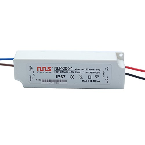 NuNus LED Transformateur Electronique 24V 20W IP67 LPV-20-24