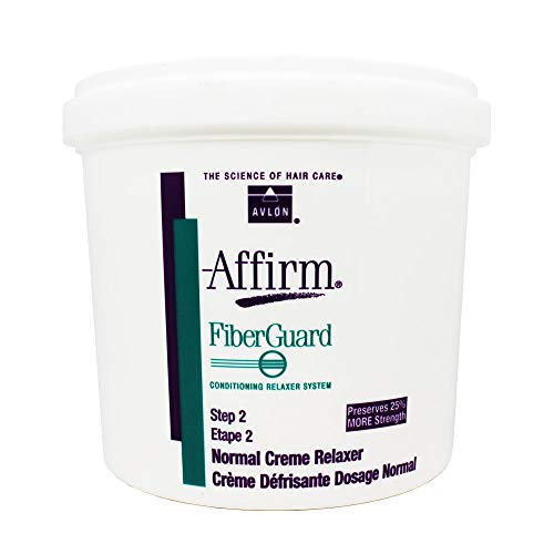 Avlon Affirm FiberGuard Conditioning Creme Relaxer Normal 4 lbs.