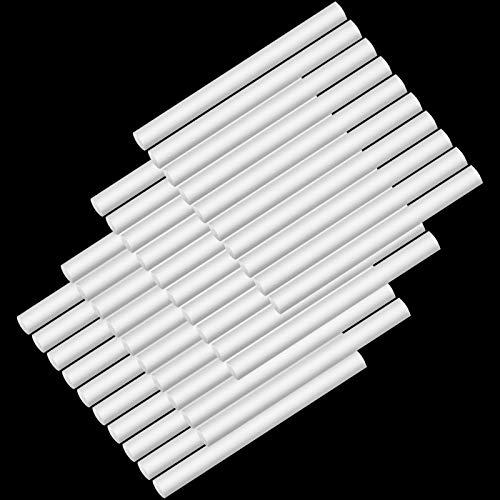 Boao 40 Varillas de Humidificador Filtro de Algodón Mechas Varillas de Relleno de Repuesto Humidificadores Personales Portátiles con Alimentación USB en Oficina y Dormitorio (2,75 Pulgadas)