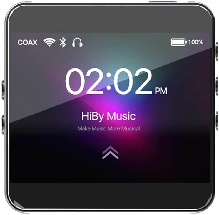 HiBy R2 Portable Lossless Music Player, mp3 Player with Bluetooth 5.0 and WiFi 5G, Entry-Level Hi-Fi Music Player for Audiophile - Black