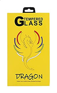Dragon Anti Fingerprint 5D Tempered Glass Screen Protector for Realme 3 Pro - Black and Clear