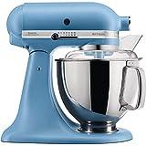 KitchenAid Robot culinaire Artisan 4,8 L vintage Bleu