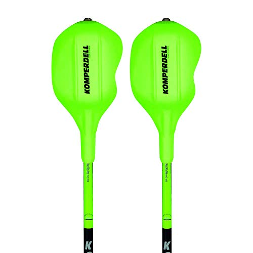 Komperdell 1473251–48 National Team Carbon Bâtons de Ski Slalom 12,3 Race Green 115 cm Vert - 48 Race Green