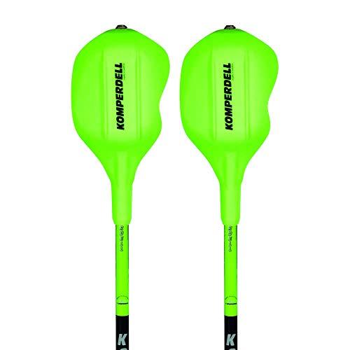 Komperdell 1473251-48 Skistöcke Nationalteam Carbon Slalom 12,3 Race Green - 120 cm