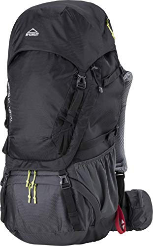 MC KINLEY Mckinley Sac a dos-303067 Unisex Sac a dos Black/Anthracite/Gre FR : Taille Unique (Taille Fabricant : 55)
