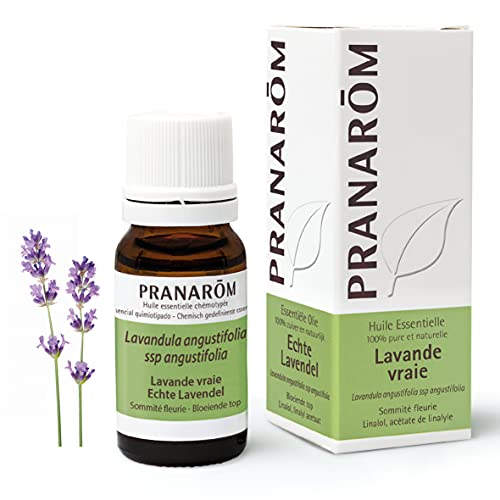 Pranarom - Aceite Esencial de Lavanda, Sumidad Florida, 10 Mililitros