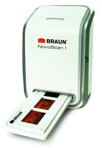 Braun Photo Technik Novoscan I - Escáner de Negativos y Diapositivas (Escáner con Adaptador de Película/Diapositiva)