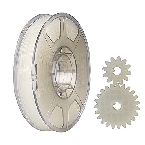 eSUN Filamento Nylon 1.75mm, Impresora 3D Filamento PA, Precisión Dimensional +/- 0.05mm, 1KG (2.2 LBS) Carrete para Filamento de Impresión 3D, Natural