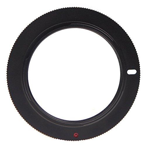 TOOGOO(R) Anillo adaptador lentes M42 para Nikon D700 D300 D5000 D90 D80 D70 Negro