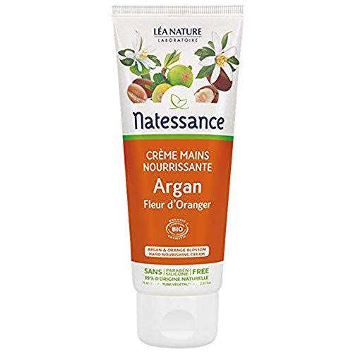 Natessance Crème Mains Nourrissante Argan Fleur d'Oranger 75 ml