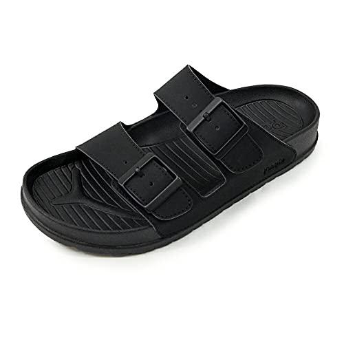 [People Footwear ピープルフットウェア] スライドサンダル シャワーサンダル【LENNON】 Black(ブラック) US7.0(25.0cm)