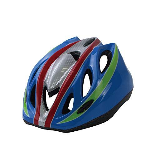 Lidauto fietshelm voor kinderen Road Bike MTB Riding Helmet 3-8 jaar, blauw