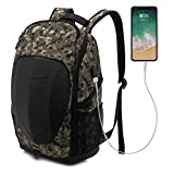 Laptop Backpack for Men Motorcycle Backpack Gaming Backpack Waterproof Outdoor Travel Hiking Cycling Riding Laptop Backpacks 17.3 inch Computer Bags for Casual Daypack