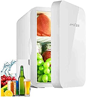 Mini Fridge 6 Liter Skincare Fridge, AC/DC Portable Thermoelectric Cooler and Warmer for Cosmetics, Medications, Breastmil...