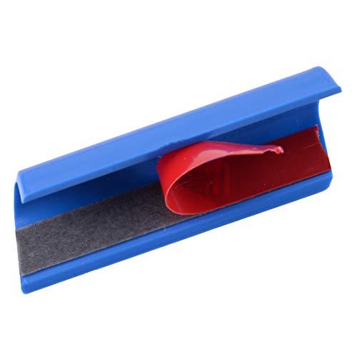 ANCHISNB 3 Piezas de plástico del Coche Delantero de la Parrilla Cubierta Grill Ajuste del indicador de Francia plástico Color/Ajuste for el for Peugeot 301 4008 308 408