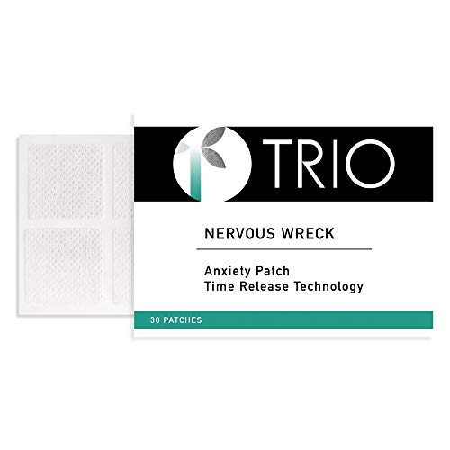 Trio Nervous Wreck - Anxiety, Panic Attack, Panic Disorder Blend (30 Patches)
