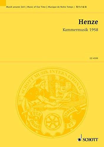 Kammermusik 1958: über die Hymne