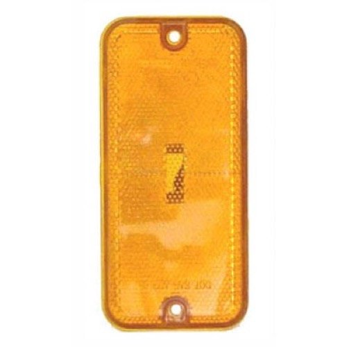 Go-Parts - for 1985 - 1995 Chevrolet G20 Side Marker Light Assembly / Lens Cover - Front Right (Passenger) Side 915489 GM2550113 Replacement 1986 1987 1988 1989 1990 1991 1992 1993 1994